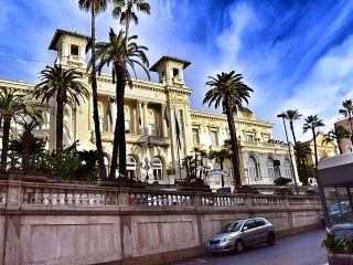 Trips  Sanremo. Mysterious city.
