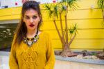 MY OUTFIT  O iarnă colorată cu  galben-muștar