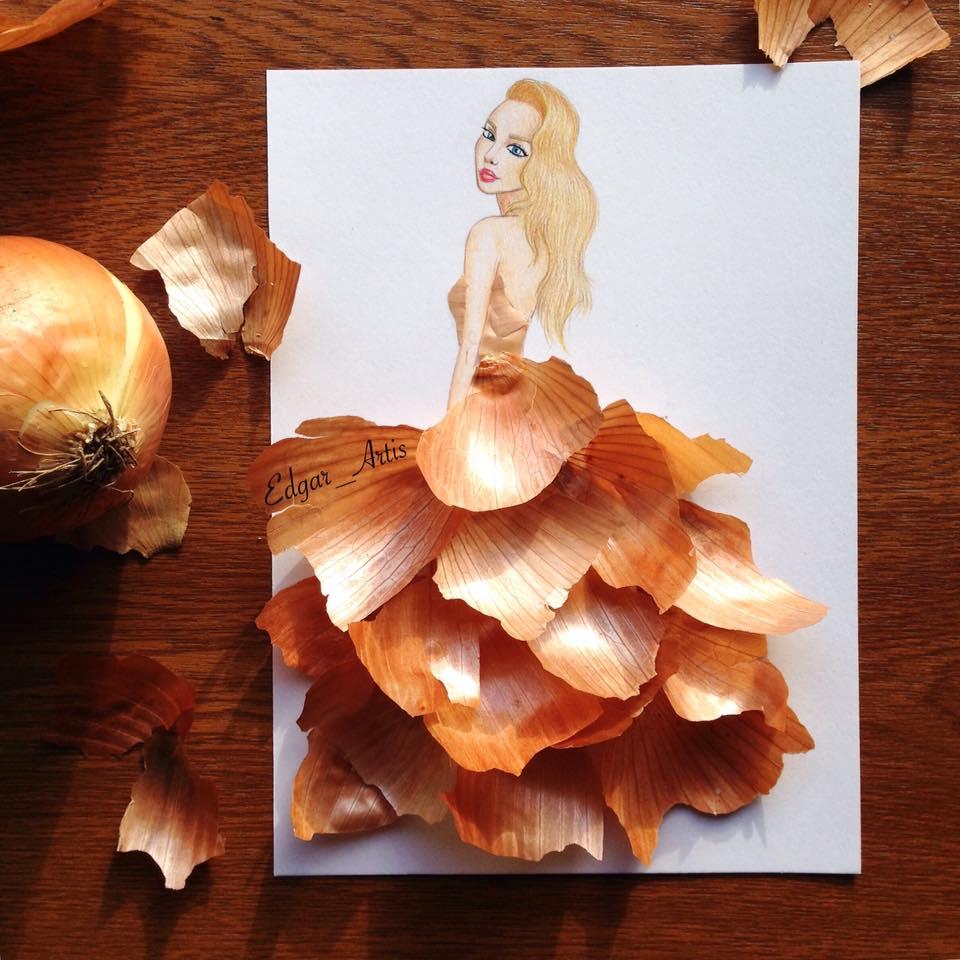 Fashion Lifestyle  FOTO:Ilustrator de modă armean uimește cu creațiile sale
