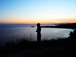 Trips  FOTO/Halkidiki: Când ești trist(ă), privește Apusul de Soare