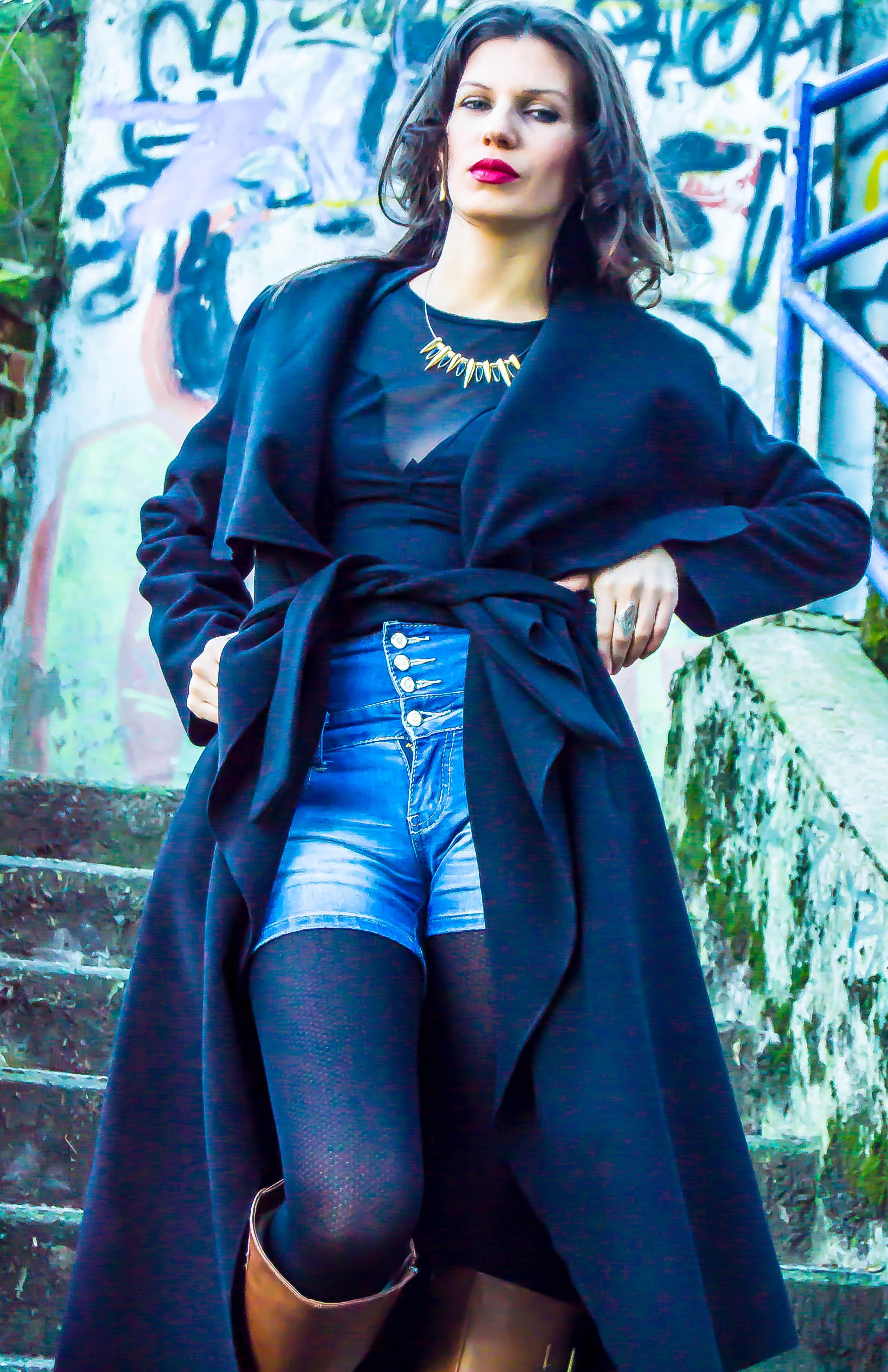 MY OUTFIT Non categorizzato  Must-have: Cappotto lungo e pantaloncini di inverno