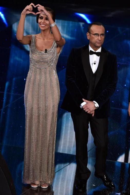 Fashion  Sanremo 2016: Ținutele Mădălinei Ghenea pe scena Ariston