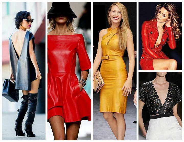 Fashion  Must-Have: Ținutele din piele, trendul acestui sezon