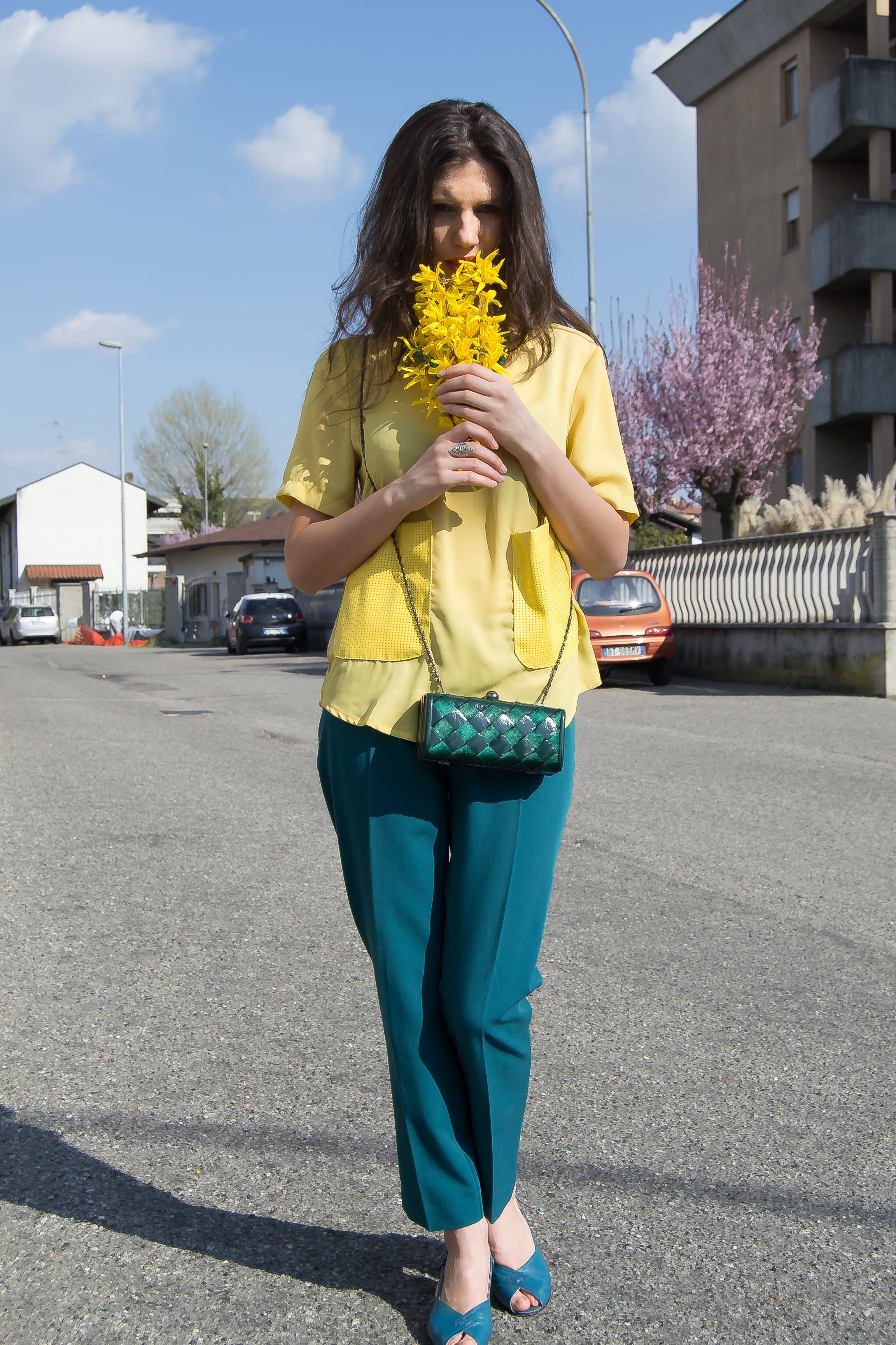 MY OUTFIT  Spring colours
