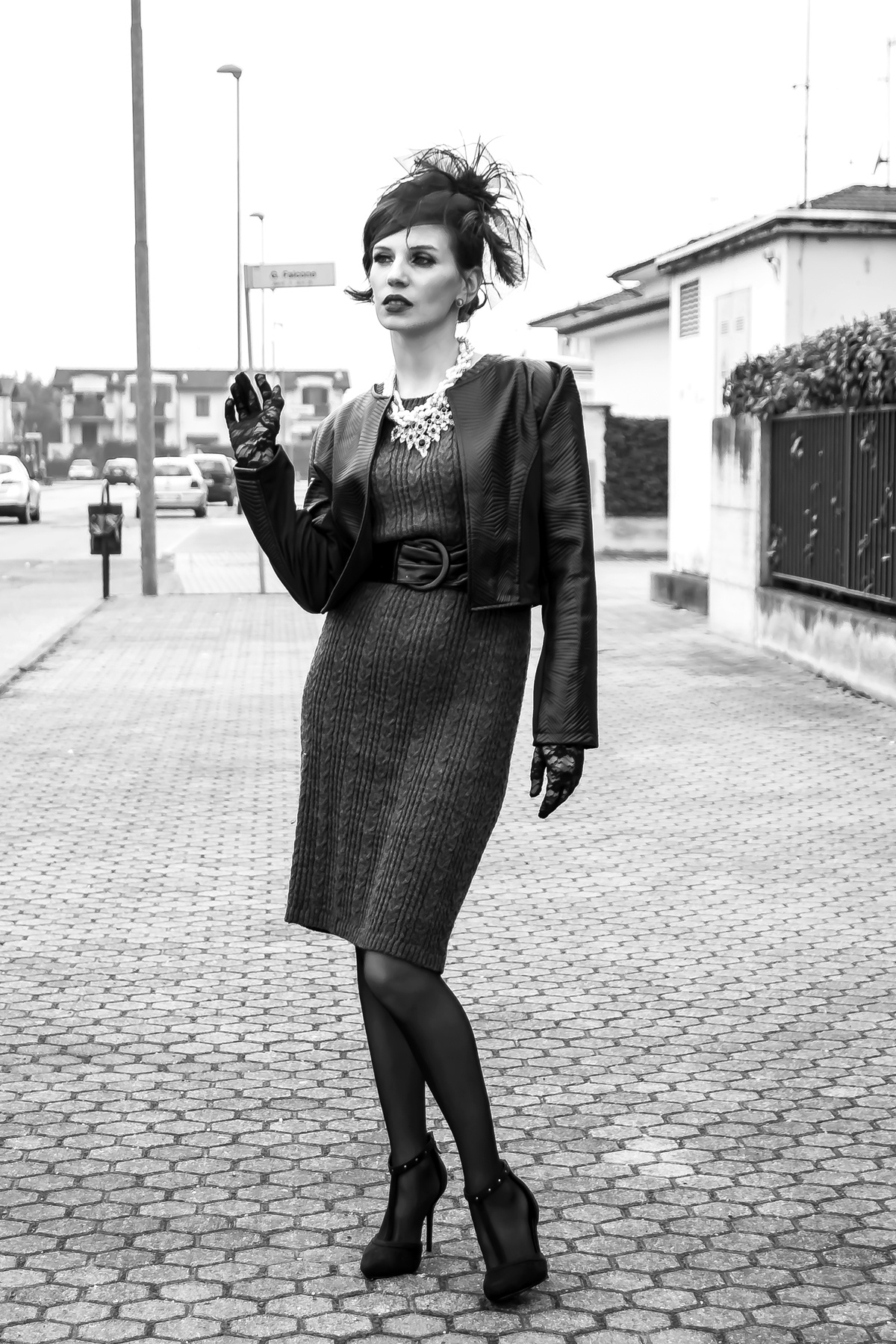 MY OUTFIT  Eleganță vintage în alb și negru