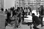 Fashion  Backstage:  Street Urban Shooting in Milano