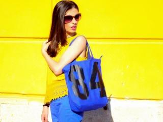 MY OUTFIT Uncategorized @ro  Inspirația mea: albastru și galben într-o ținută de vară