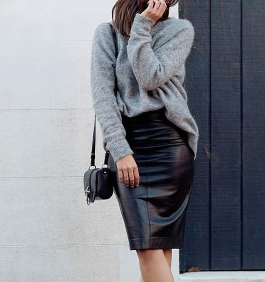 Fashion Uncategorized @ro  MUST HAVE IARNA: FUSTA DIN PIELE