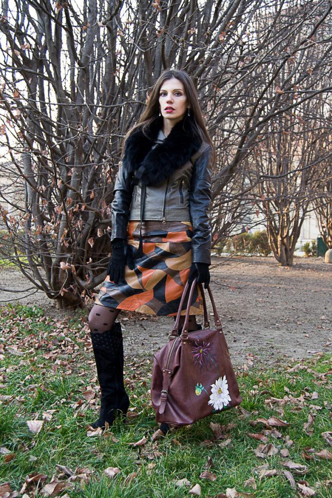 MY OUTFIT  Ținuta sezonului: hainele din piele, un moft