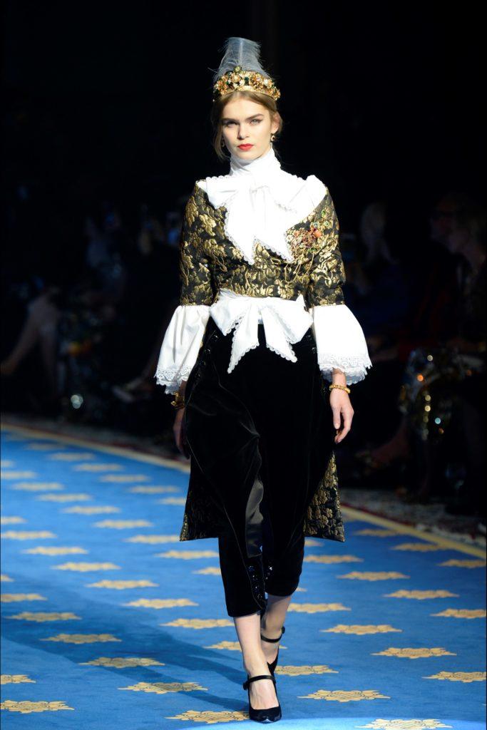 Fashion Uncategorized @ro  Dolce & Gabbana: Modă Primavară-Vară  2017