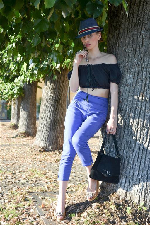 MY OUTFIT Non categorizzato  Crop TOP-UL e pantaloni a vita alta