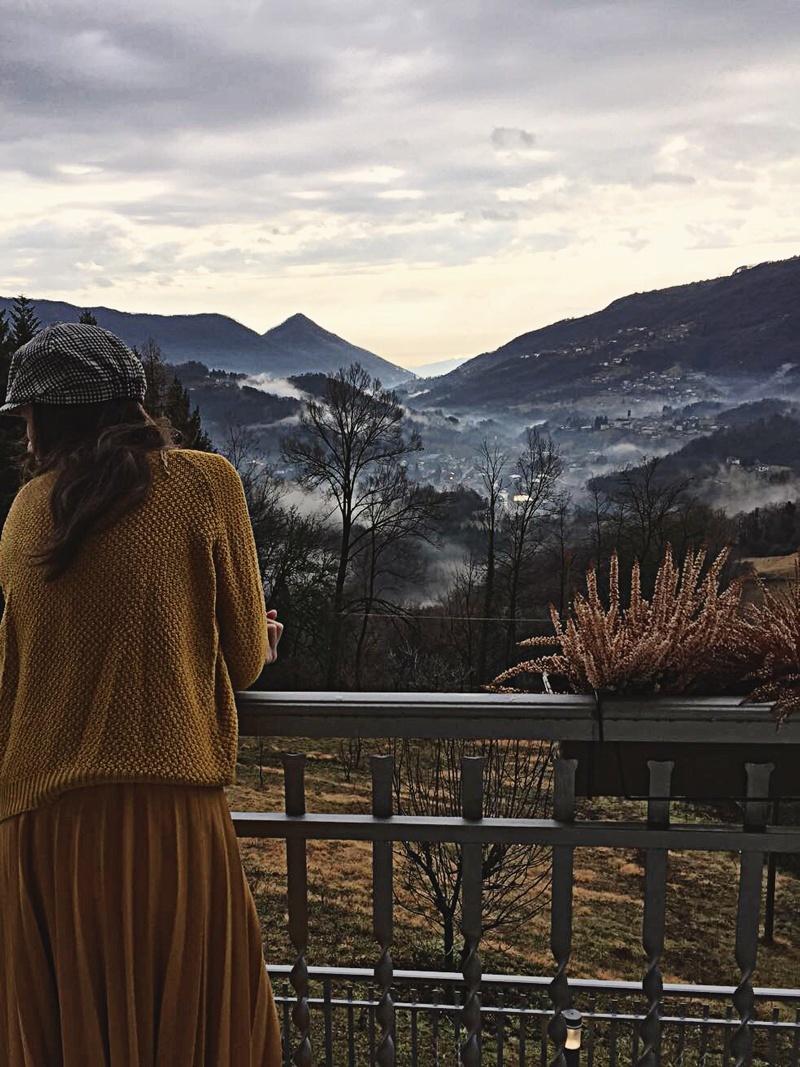 Trips  Valea Imagna: refugiul de la poalele munților