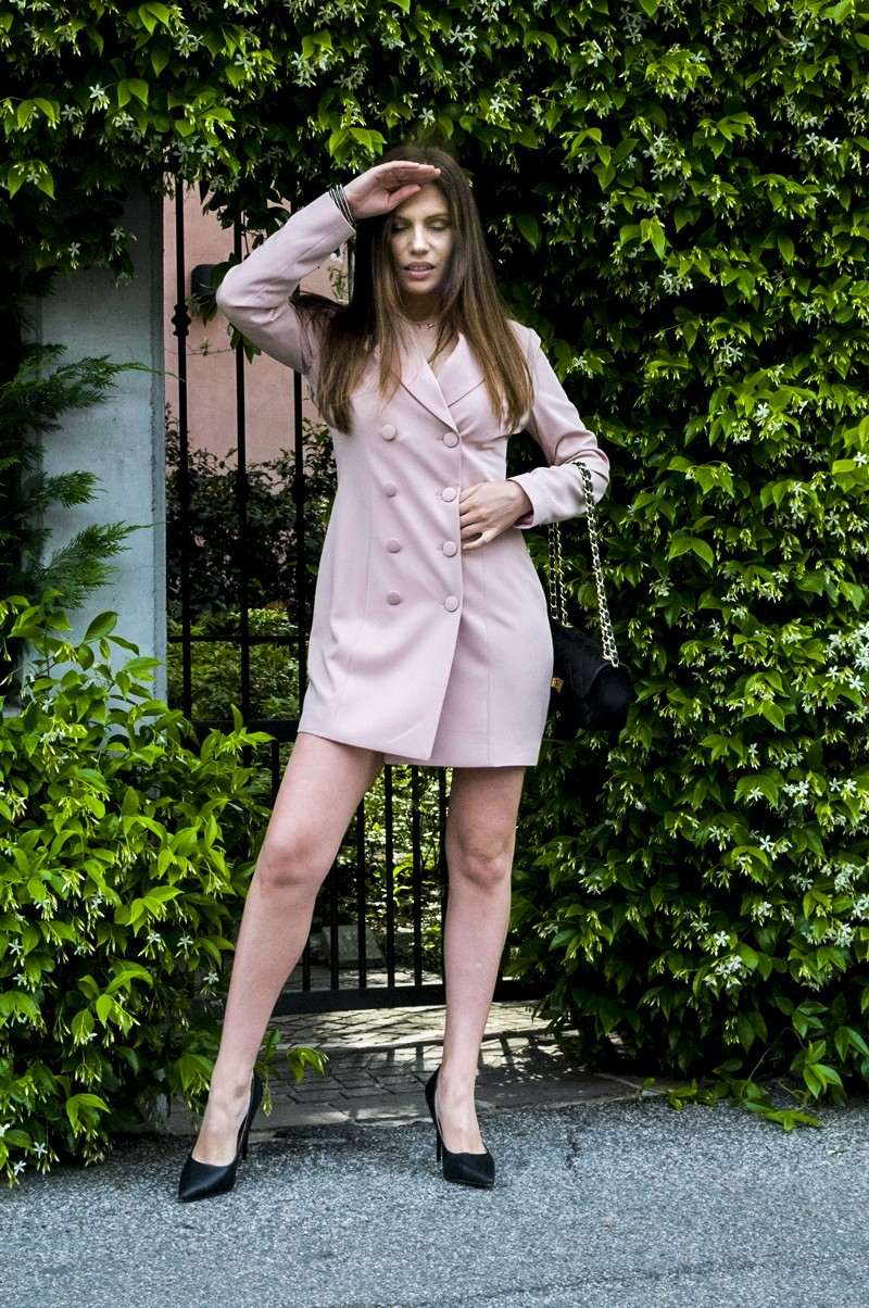 MY OUTFIT  Must-have-ul momentului: Blazer tip rochie